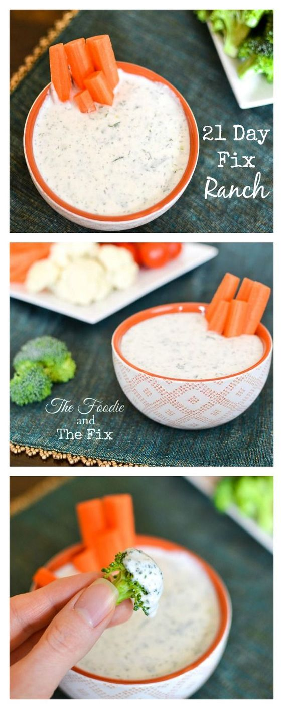21 Day Fix Ranch Dip Recipe